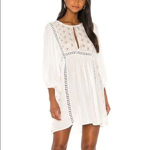 Free People, Charlotte, Embroidered Dress Tunic